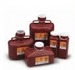 BD 305489 Sharps Containers, 6.9 Quart Red Non-Stackable 12/CS
